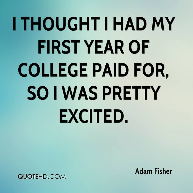 first year in college