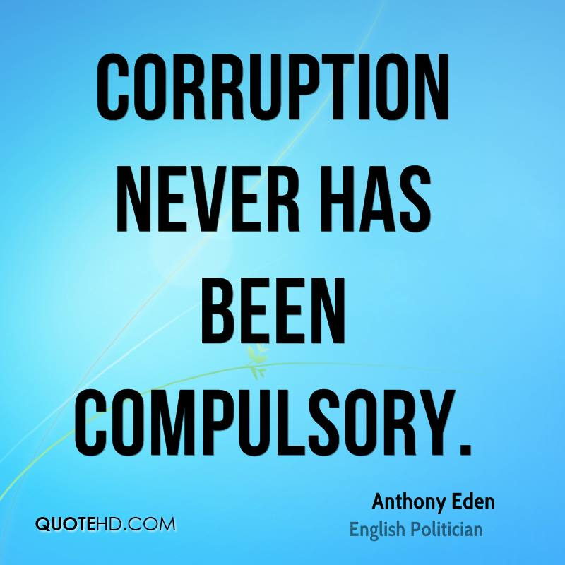 Quotes About Corruption: Anthony Eden Quotes