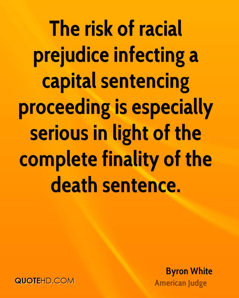 The risk of racial prejudice infecting a capital sentencing proceeding is especially serious in light of the complete finality of the death sentence.