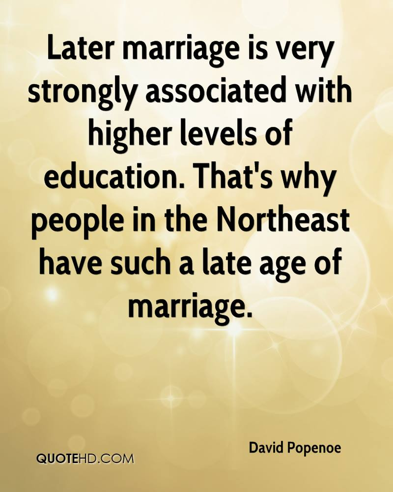 Late Quotes David Popenoe Marriage Quotes  Quotehd