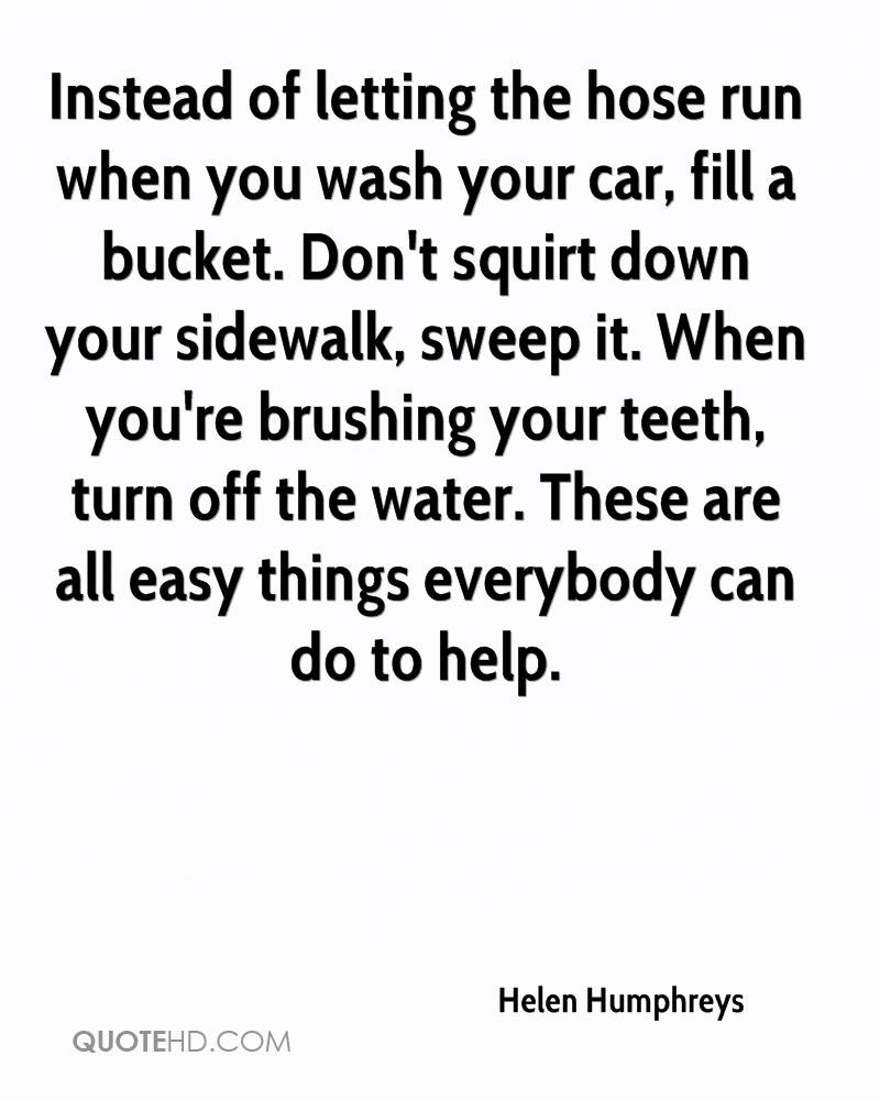 Car Wash Quotes Helen Humphreys Quotes  Quotehd