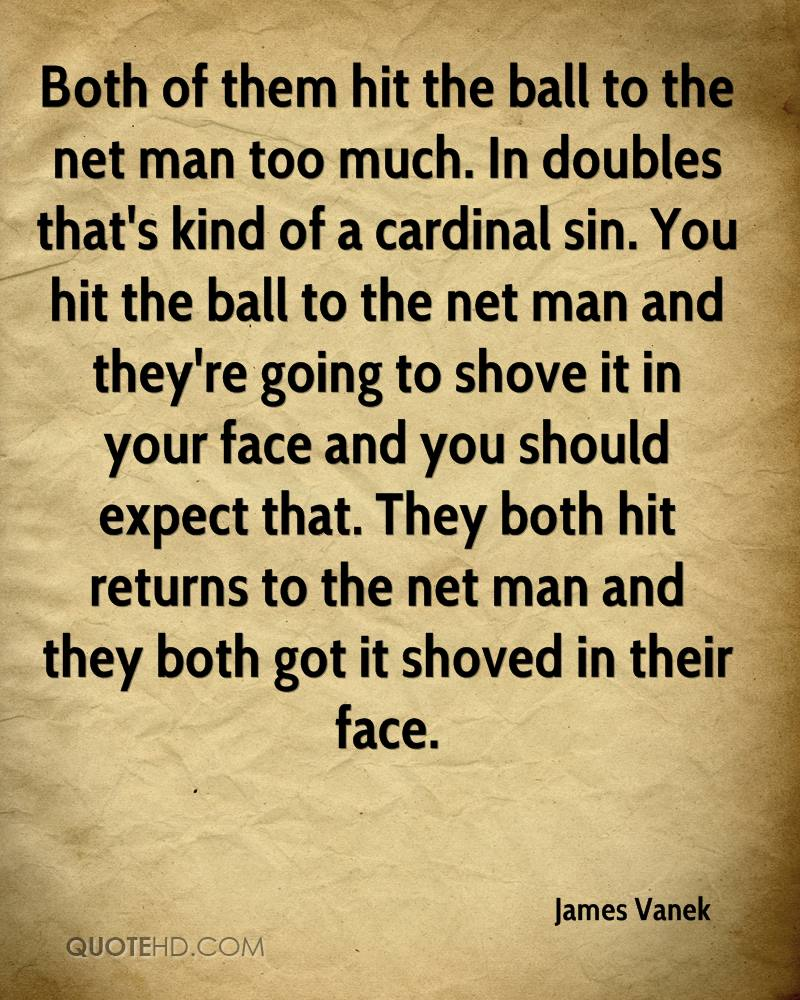 Both of them hit the ball to the net man too much. In doubles that's kind of a cardinal sin. You hit the ball to the net man and they're going to shove it in your face and you should expect that. They both hit returns to the net man and they both got it shoved in their face.