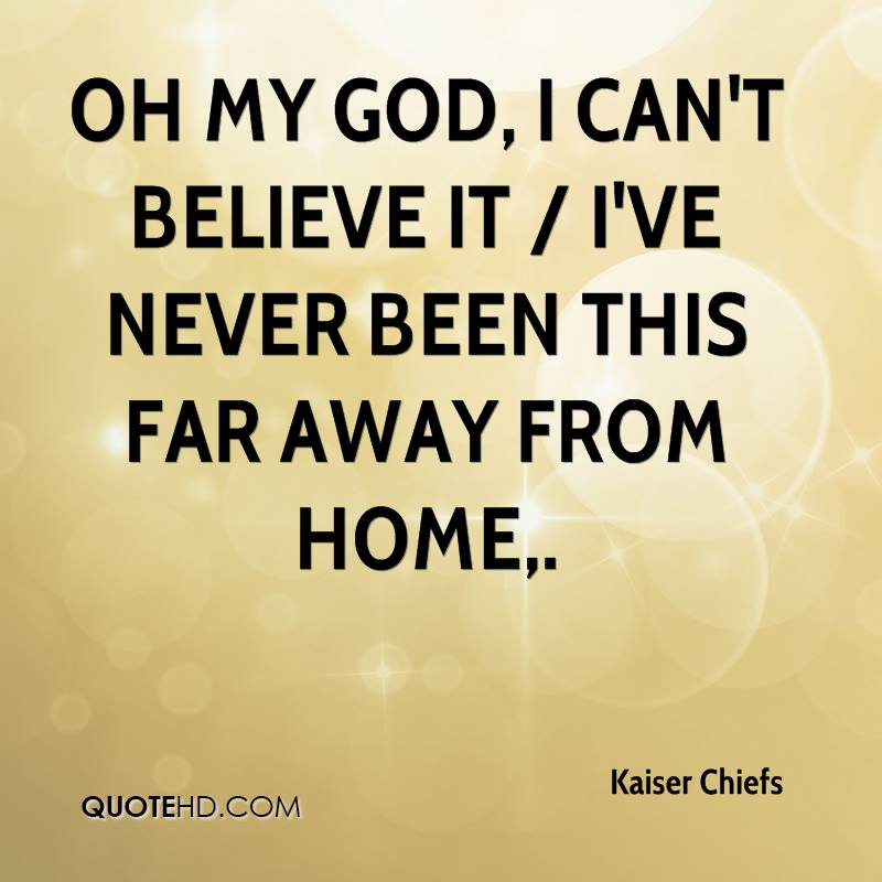 Kaiser Chiefs Quotes