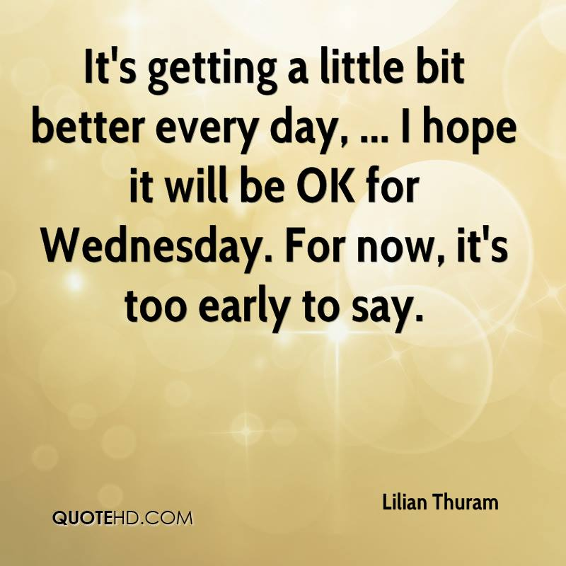 Hoping For Better Days Quotes: Lilian Thuram Quotes