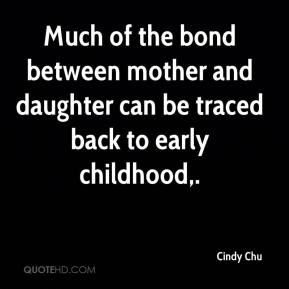 bond between mother and child essay Essay: fatherhood vs motherhood  it was also found that the bond between father and child can be almost as strong and influencing as between mother and child,.
