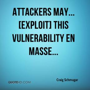 Attackers may... [exploit] this vulnerability en masse...