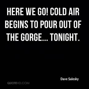 Here we go! Cold air begins to pour out of the Gorge... tonight.