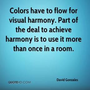 Colors have to flow for visual harmony. Part of the deal to achieve harmony is to use it more than once in a room.