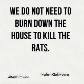 Image result for Herbert Clark Hoover Quotes