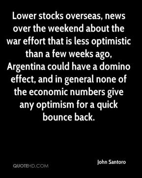 Lower stocks overseas, news over the weekend about the war effort that is less optimistic than a few weeks ago, Argentina could have a domino effect, and in general none of the economic numbers give any optimism for a quick bounce back.