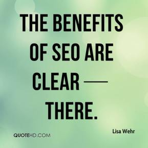 The benefits of SEO are clear — there.