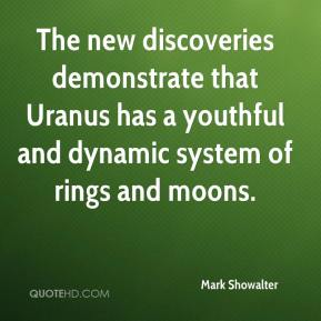 Mark Showalter  - The new discoveries demonstrate that Uranus has a youthful and dynamic system of rings and moons.