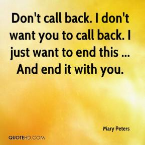 Mary Peters Quotes | QuoteHD