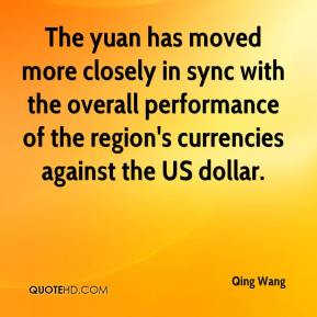 The yuan has moved more closely in sync with the overall performance of the region's currencies against the US dollar.