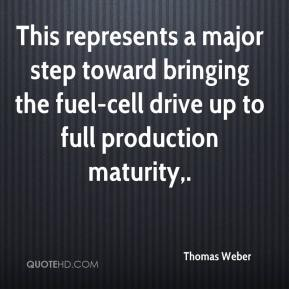 This represents a major step toward bringing the fuel-cell drive up to full production maturity.