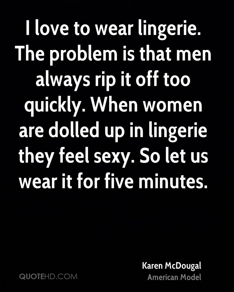 Sexy lingerie quotes