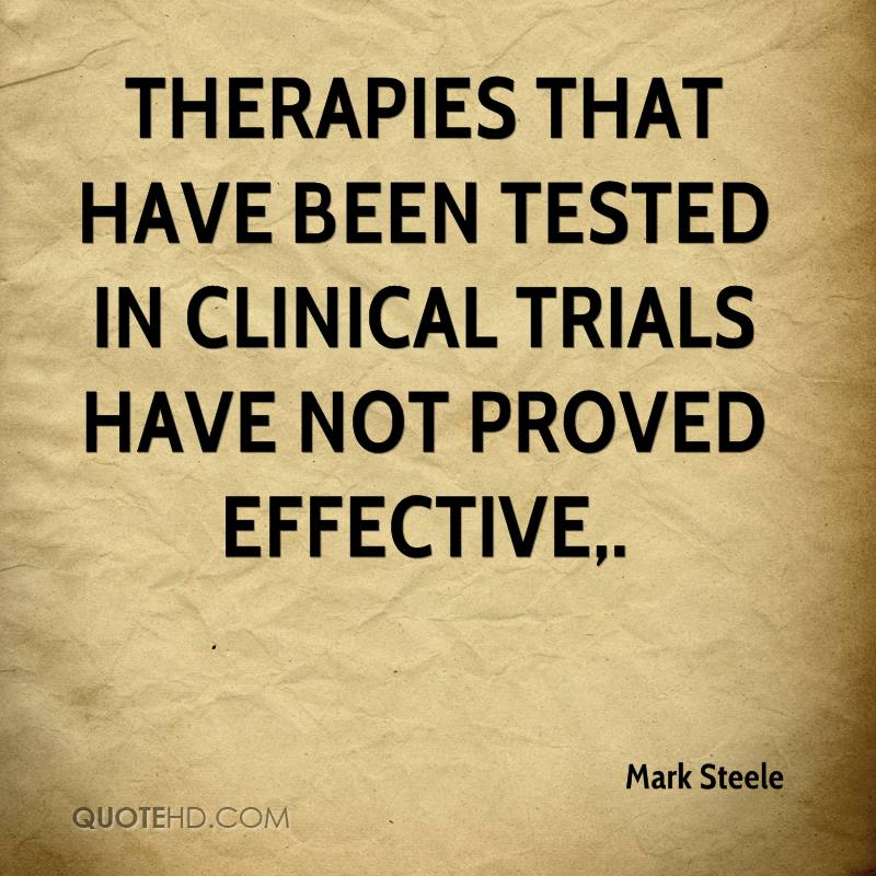 Therapies that have been tested in clinical trials have not proved effective.