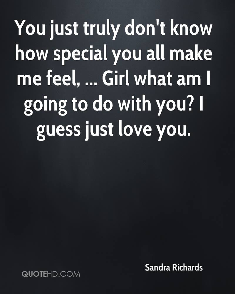 Quotes To Make A Girl Feel Special