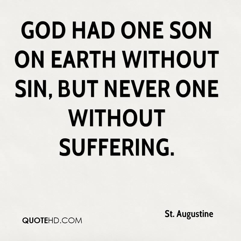 """god never causes suffering Redemptive suffering can strike us as one of those medieval catholic concepts  that cause our protestant brothers and sisters to roll their eyes so when pastor  rick warren  god never wastes a hurt"""" in romans 8:18 st paul."""