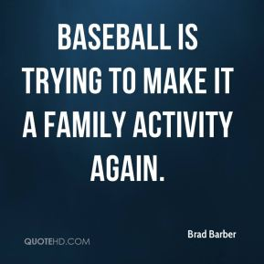 Baseball is trying to make it a family activity again.