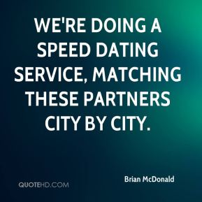 Speed dating quotes