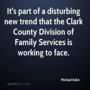 Michael Kahn  - It's part of a disturbing new trend that the Clark County Division of Family Services is working to face.