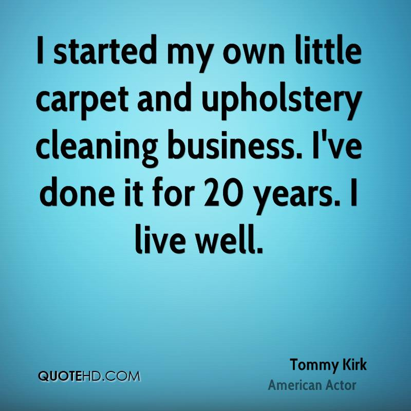 Carpet Quote: Tommy Kirk Quotes