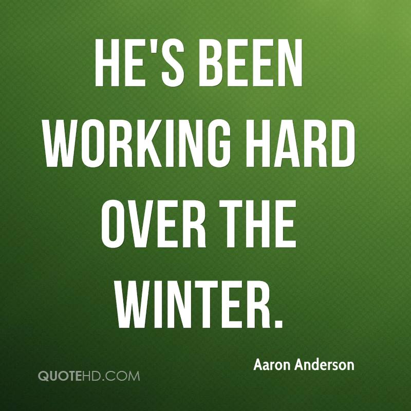 Aaron Anderson Quotes Quotehd