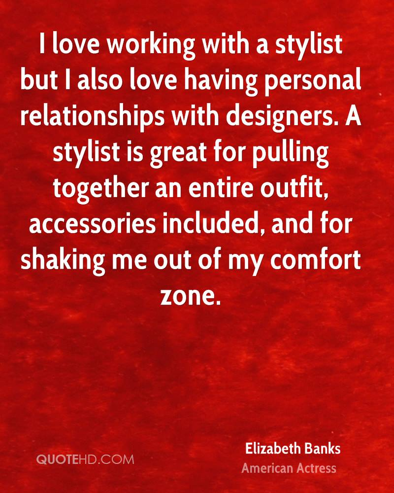 I love working with a stylist but I also love having personal relationships with designers. A stylist is great for pulling together an entire outfit, accessories included, and for shaking me out of my comfort zone.