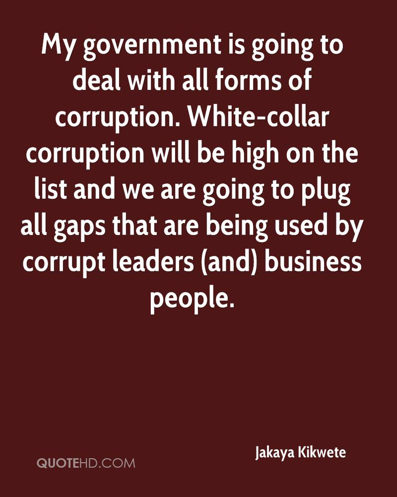 Quotes About Corruption: Jakaya Kikwete Quotes