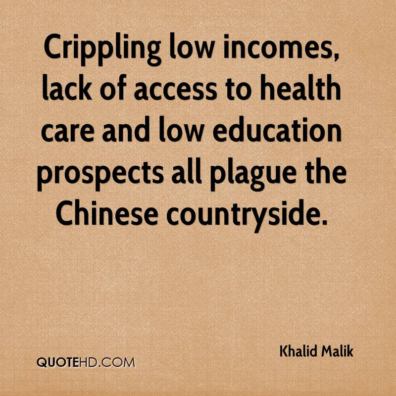 Crippling low incomes, lack of access to health care and low education prospects all plague the Chinese countryside.