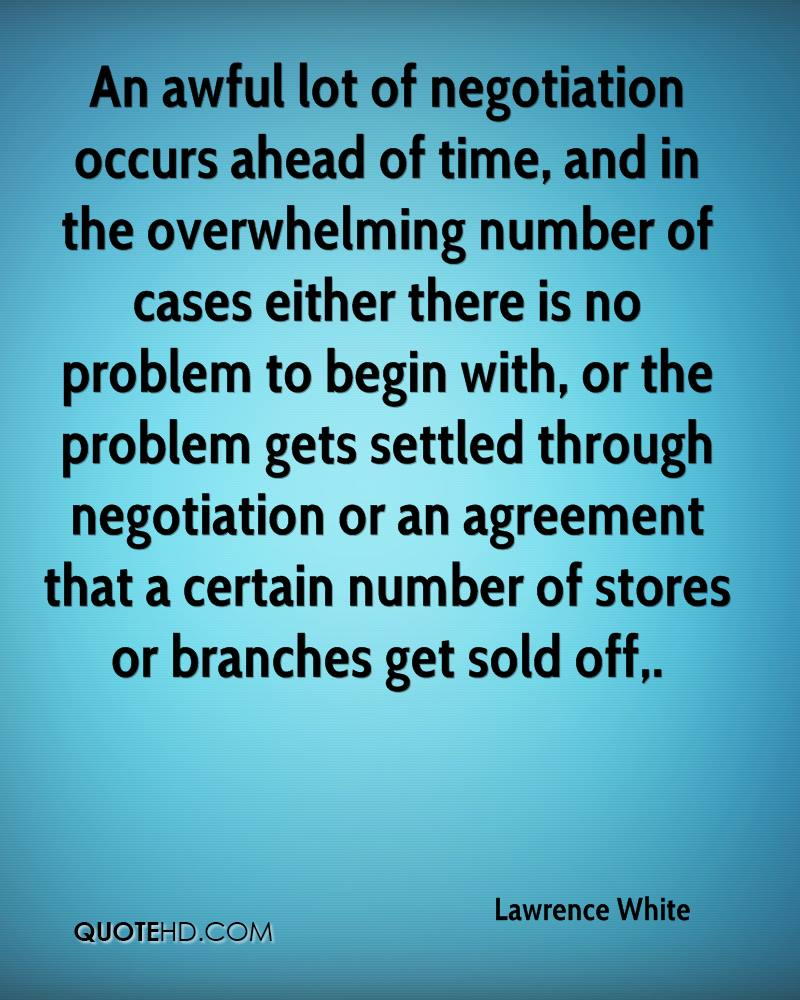 An awful lot of negotiation occurs ahead of time, and in the overwhelming number of cases either there is no problem to begin with, or the problem gets settled through negotiation or an agreement that a certain number of stores or branches get sold off.
