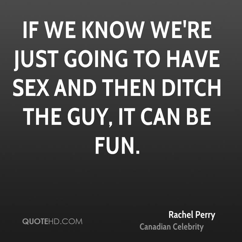 We are going to have sex