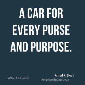 A car for every purse and purpose.