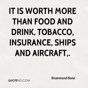 It is worth more than food and drink, tobacco, insurance, ships and aircraft.