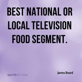 James Beard - Best National or Local Television Food Segment.