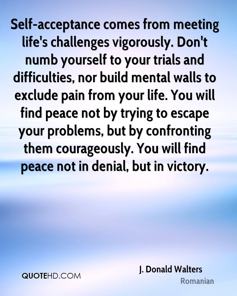Acceptance Quotes Entrancing Jdonald Walters Quotes  Quotehd
