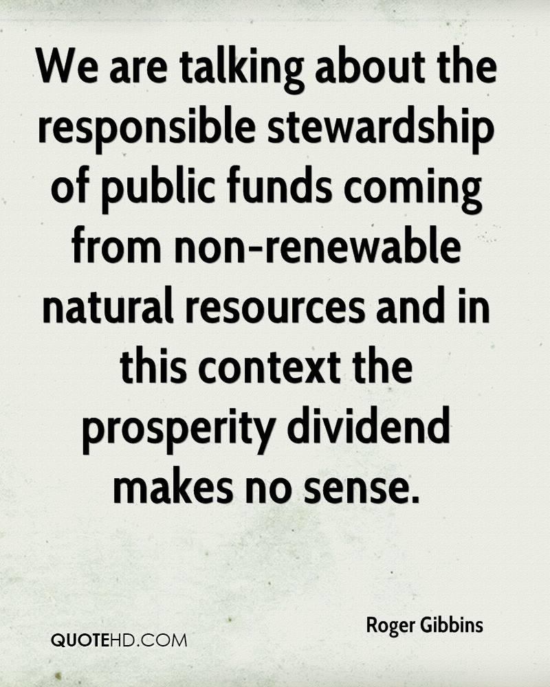 Stewardship Quotes Roger Gibbins Quotes  Quotehd