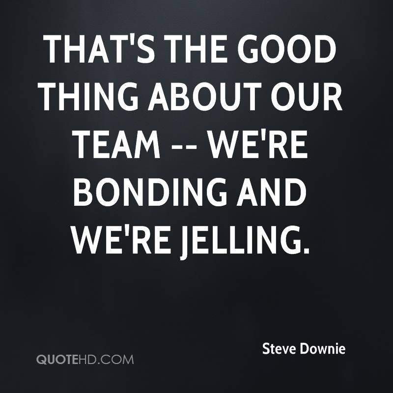 Bonding Quotes Extraordinary Steve Downie Quotes  Quotehd