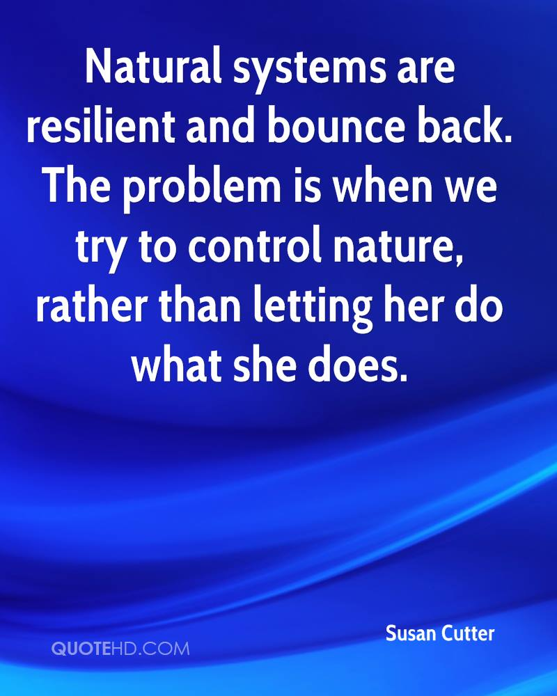 Back To Nature Quotes: Susan Cutter Quotes