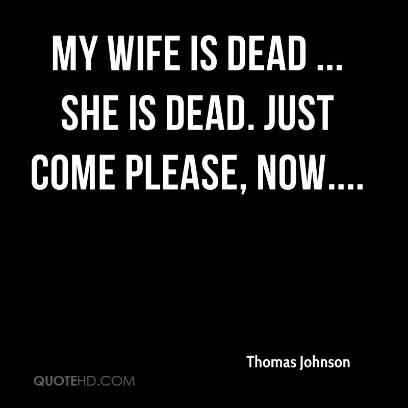 Quotes For A Dead Wife
