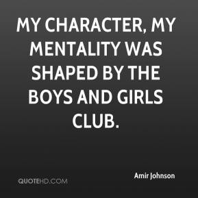 Amir Johnson - My character, my mentality was shaped by the Boys and Girls club.