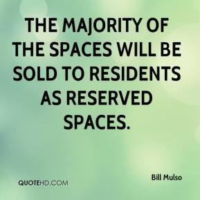 The majority of the spaces will be sold to residents as reserved spaces.