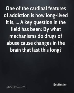 One of the cardinal features of addiction is how long-lived it is, ... A key question in the field has been: By what mechanisms do drugs of abuse cause changes in the brain that last this long?