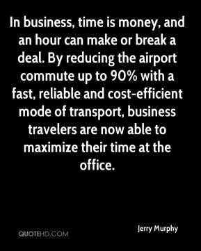 In business, time is money, and an hour can make or break a deal. By reducing the airport commute up to 90% with a fast, reliable and cost-efficient mode of transport, business travelers are now able to maximize their time at the office.