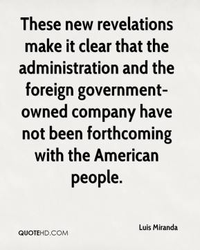 These new revelations make it clear that the administration and the foreign government-owned company have not been forthcoming with the American people.