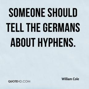 Someone should tell the Germans about hyphens.