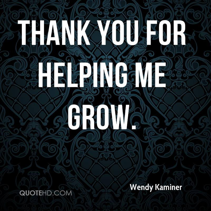 Thank You Quotes For Helping: Wendy Kaminer Quotes