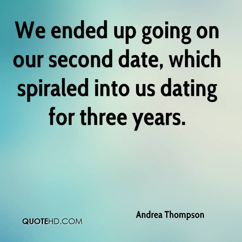 going on a second date