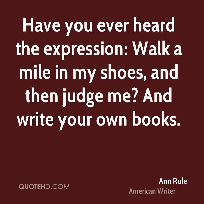 walk a mile in my shoes writing activity